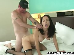 Hot unskilled Milf sucks around..