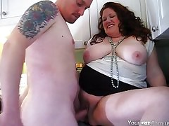 MILF Jennifer gets a creampie..