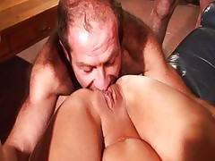 Full-grown gangbang arse pussy..