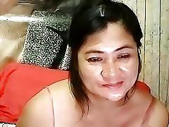 Filipina MILF crowd me cum
