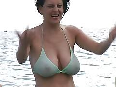 Hot Milf encircling Bikini..