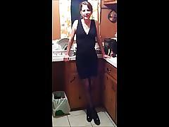 Je me masturbe et il joui