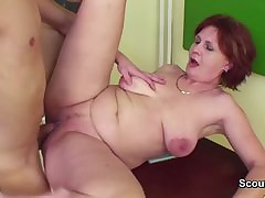 German Milf Teacher pretence..