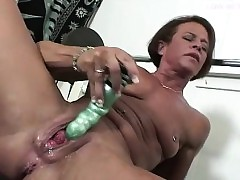 Intellect MILF Toy Shacking..