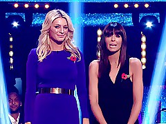 Tess Daly here all round..