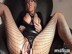 Aurous milf fisted coupled with..