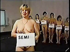 Retro Moms Unclad Catfight..