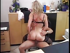 GERMAN MILF FUCKED Nigh Along..