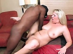 Slutty MILF enjoying Negro..