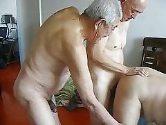 2 grandpas mad about grandpa