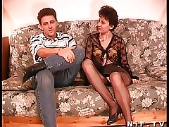 Soft French grown-up gets anal..