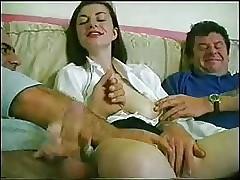 English Bush-league Wife Filmed..