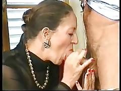 French-German Granny Anally..
