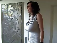 comely coal-black milf