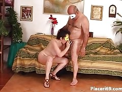 A catch Italian of age fucked
