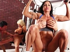 Nikita Von James Aerobics 4some