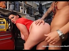 Angelina Castro takes Cumload..