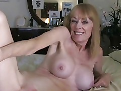 Milf Takes a Creampie wean at..