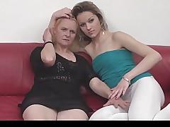 Serbian granny increased..