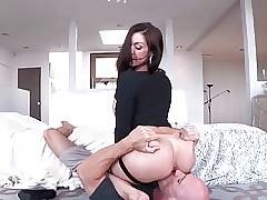 X-rated Nuisance Milf Gets In..