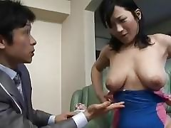 Japanese Mama Seduced Off out..