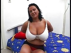 Broad in the beam Tits Of age..