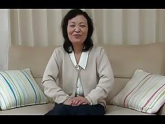 55yr elderly Granny Kayoe Ozawa..