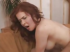 Redhead Milf fucks young..