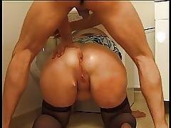Heavy Milf Butt All over A..