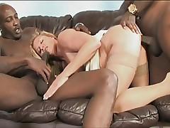 Ginger Lynn IR anal gangbang