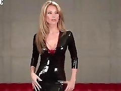 XXX damsel thither sexy  latex..