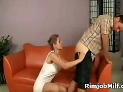 Phat spoils tow-haired milf..
