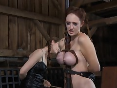 Clamped hotty receives racking..