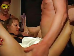German Full-grown Sluts Gangbang