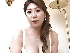 Japanese Female parent spitting..