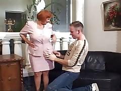 56 Yr. Age-old Redhead Granny..
