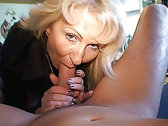 Gold German Milf - Fucks a Guy..