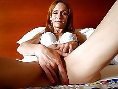 Granny Redhead Cumshot at..