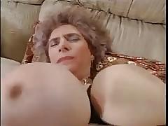 Heavy Teat Euro Granny Fucked