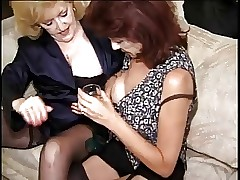 Hot Banging Grannies Kitty Foxx..