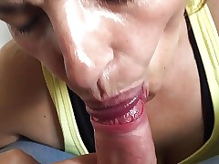 Milf neighbor sucking dig up..