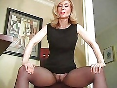 Nina Hartley Pantyhose Rag
