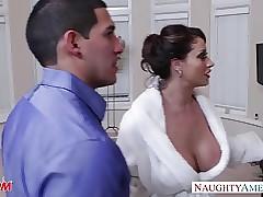 Sex-crazed female parent Eva..