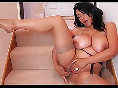Obese Titted Devilish Milf..