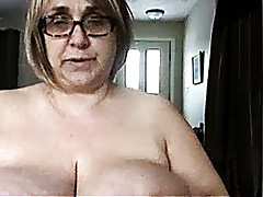 Granny around heavy titties..