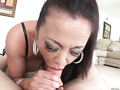 Lecherous Asian milf is famous..
