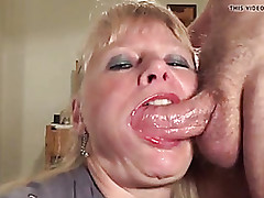 Of age gets throat fucked