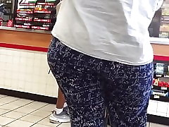 BBW Cast off Pants Obese Arse..