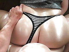 Milf panty make the beast with..