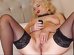 milf connected with stocking